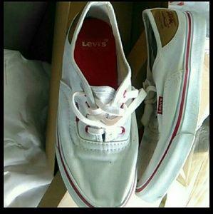 Levis Vans shoes